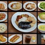 Aneka pilihan masakan di Warung Bu Ageng Jogja