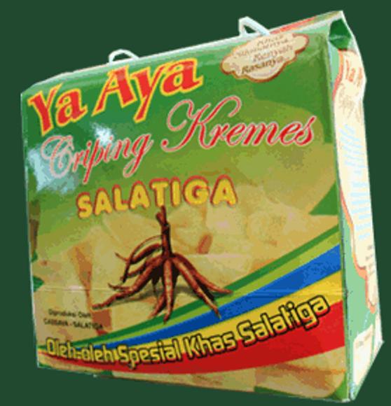 Keripik singkong presto produksi Cassava - Salatiga