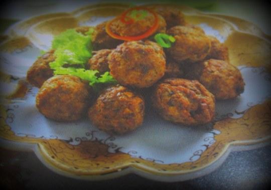 Bola Daging Cincang Jamur