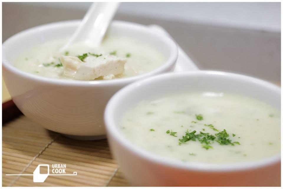 Sup Krim Ayam Spesial
