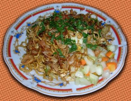 (Ilustrasi Mie Goreng Jawa:   bakmijawapakyono.wordpress.com)