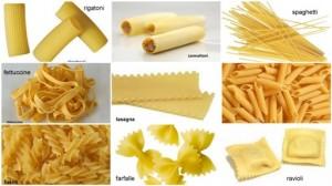 Aneka Jenis Pasta Italia