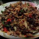 Resep Ikan Tongkol Asap Suwir Masak Pedas