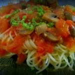 Resep Spaghetti Dengan Saus Tomat Segar