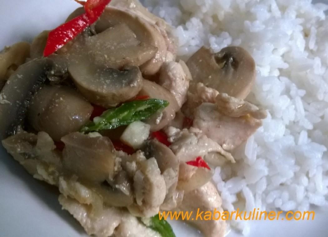 Tumis ayam jamur wijen(3)