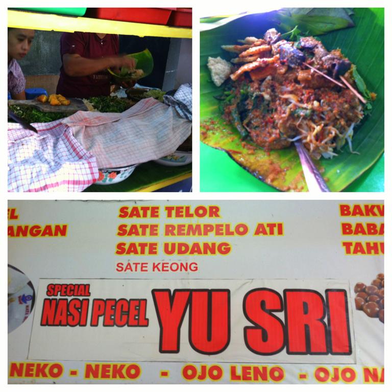 Nasi Pecel Yu Sri Semarang